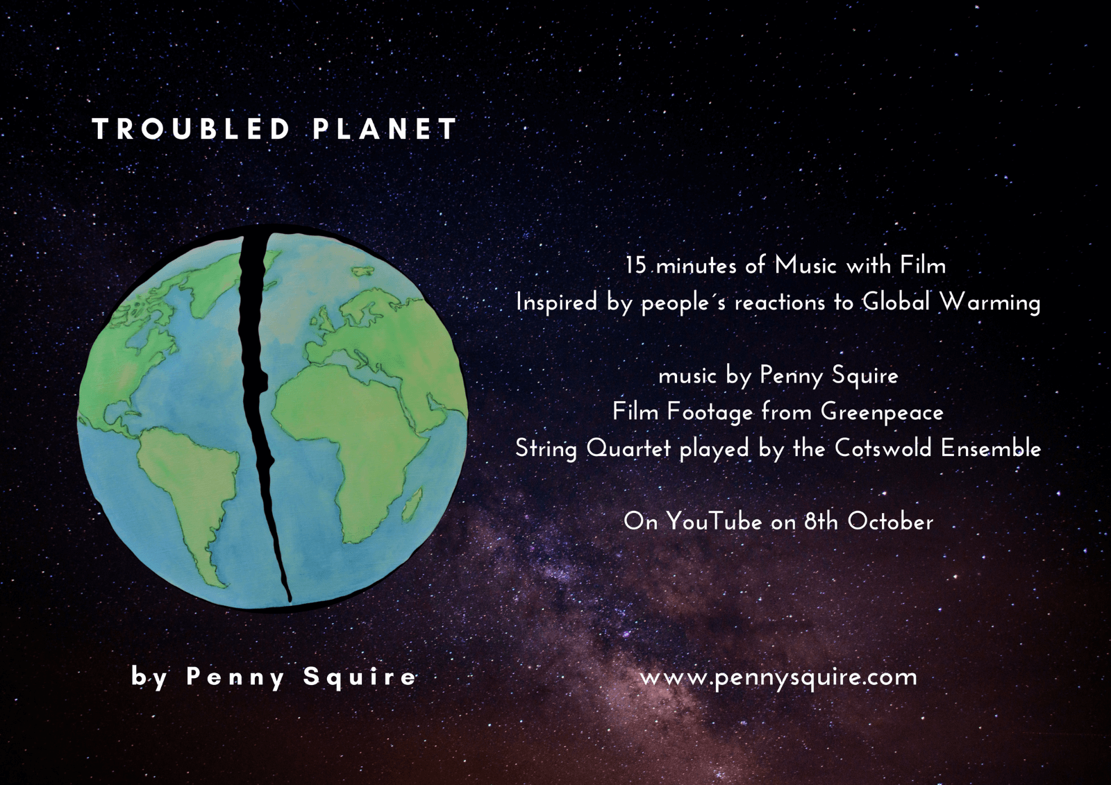 Troubled Planet Promotion
