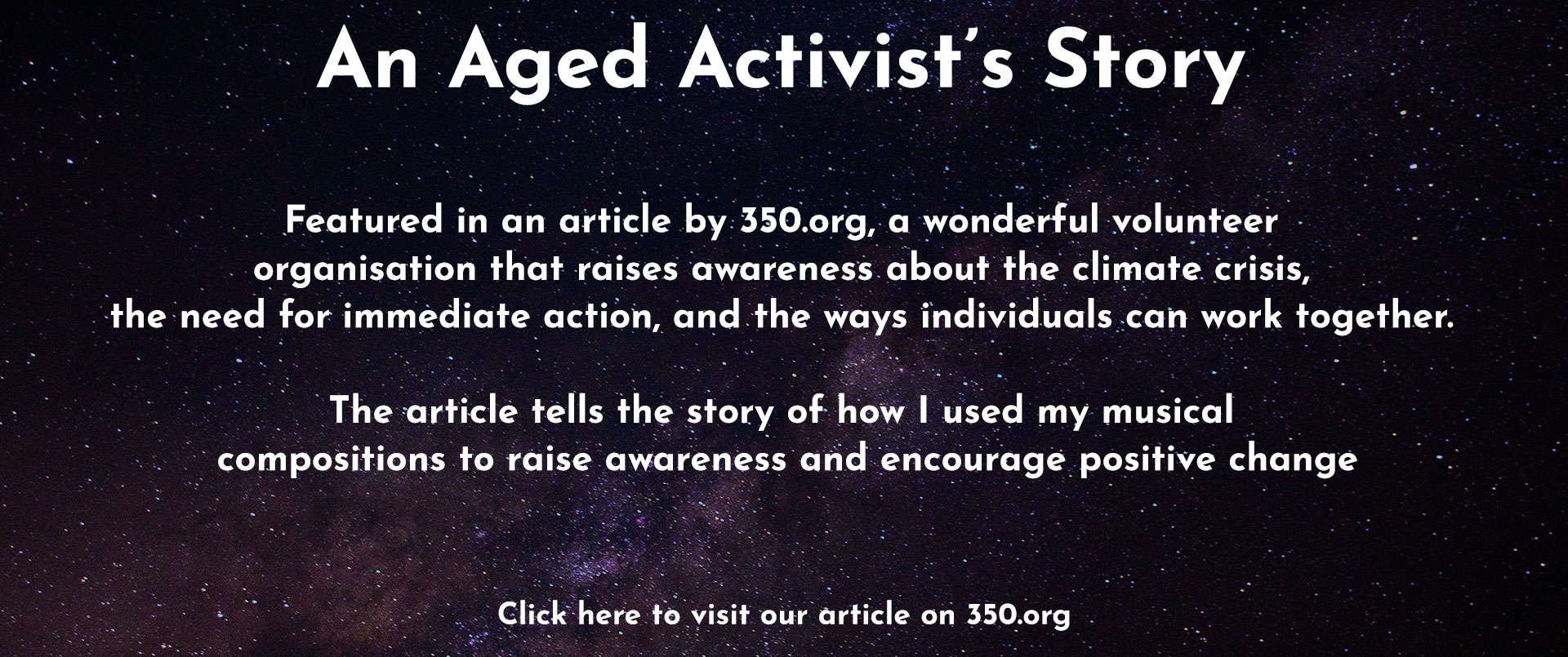 350.org Article